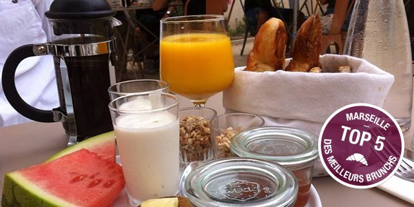 Top 5 brunchs à Marseille