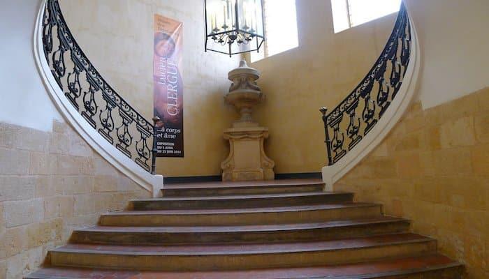 """L'exposition Clergue à Aix se """"cache"""" dans le Musée des Tapisseries dans l'ancien Palais de l'Archevêché, place des Martyrs. (Photo crédit J-F. E.)"""