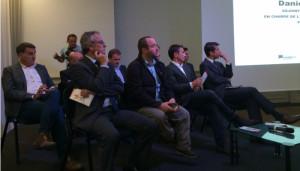 Neuf porteurs de projets s'engagent à accompagner l'innovation sur le territoire d'Aix-Marseille (photo : J.F.E).