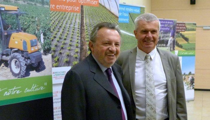 Gu rini d bloque un million d 39 euros pour les agriculteurs for Chambre agriculture bouche du rhone