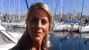 Nathalie Simon parraine la Baticup Méditerranée