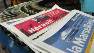 La Marseillaise et L'Hérault du Jour font appel à leurs lecteurs (Photo capture écran La Marseillaise).