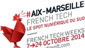 """Le spot numérique du sud"", ""base line"" de la candidature French Tech Aix Marseille. (Photo capture d'écran site Medinsoft.com)"