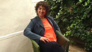 Isabelle Arvers, spécialiste de Machinima (film conçu à l'intérieur de jeux vidéo) et commissaire de l'exposition Machinigirrlzzz.