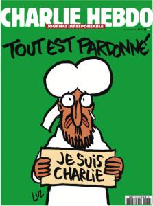 Une de charlie Hebdo demain mercredi 14 janvier 2015