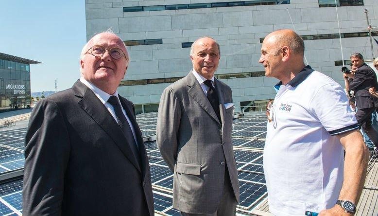 Laurent Fabius à Marseille pour la Medcop21
