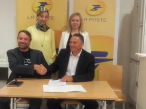 Yump Académie PACA et La Poste signent un partenariat pour l'entreprenariat local