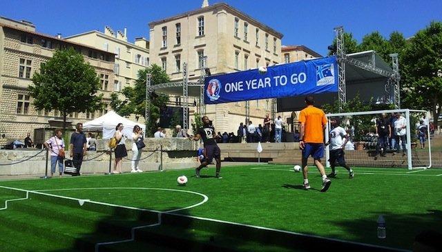 foot freestyle présentation euro 2016 Marseille