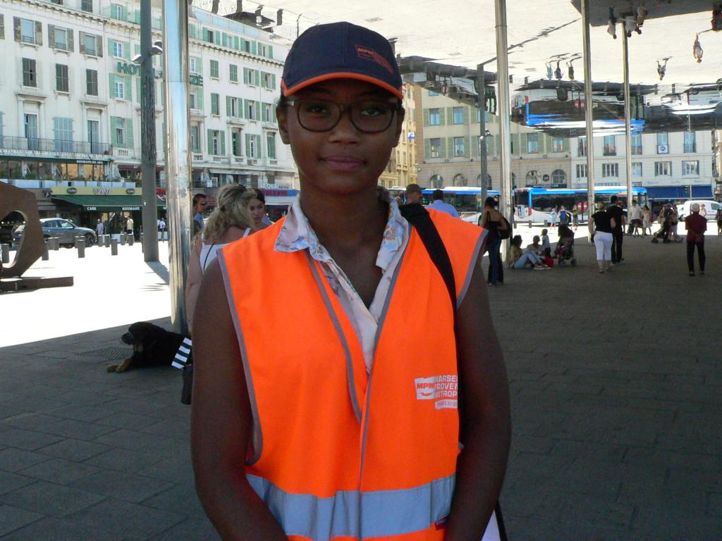 Mégane Jean-Bart, ambassadrice de la propreté en tenue.