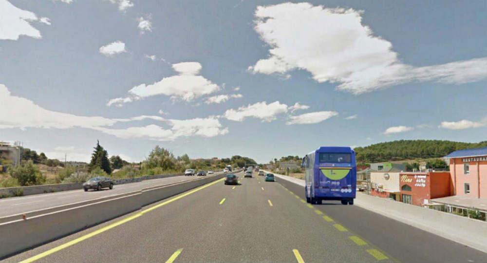 transports entre aix et marseille la voie r serv e aux bus fait son chemin gomet 39. Black Bedroom Furniture Sets. Home Design Ideas