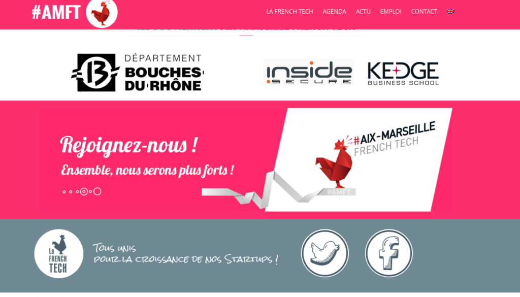 Aix-Marseille French Tech, un nouveau site et une nouvelle équipe. Photo http://amft.io