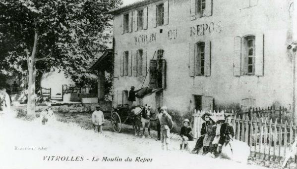 Exposition La vie à Vitrolles en 1914-18. Photo http://www.vitrolles13.fr
