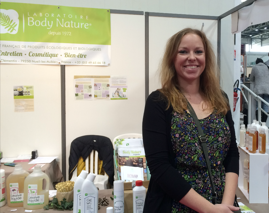 Sara Ganngloff, responsable des Salons Régions « Zen & Bio Artemisa »