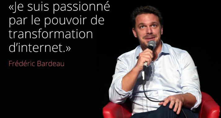 Frédéric Bardeau, co-fondateur de Simplon.co. Crédit photo @LaFrancesengage