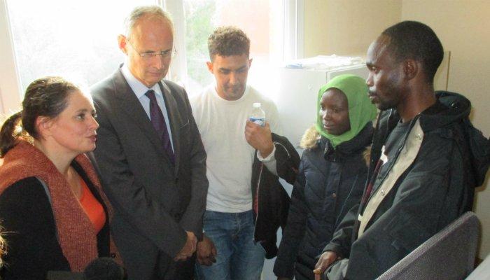 [Société] Istres se porte volontaire et accueille 41 migrants
