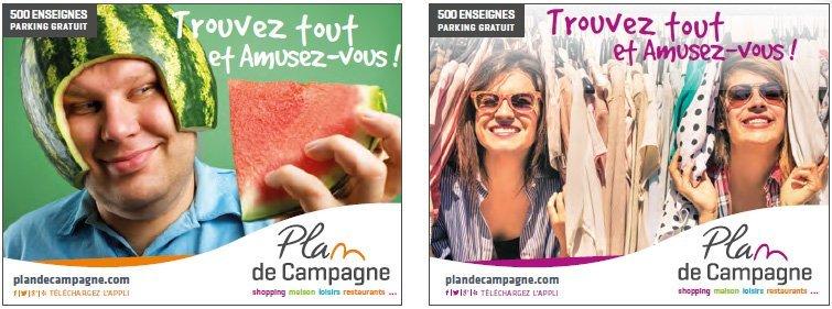 affiches plan de campagne