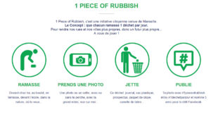 1piece of rubbish