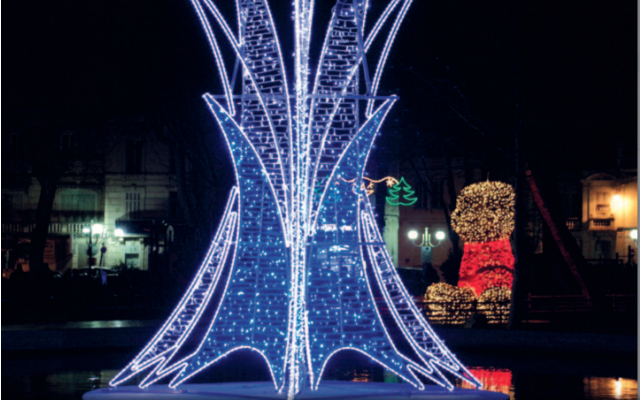 Illuminations prévues du 28 novembre au 3 janvier.