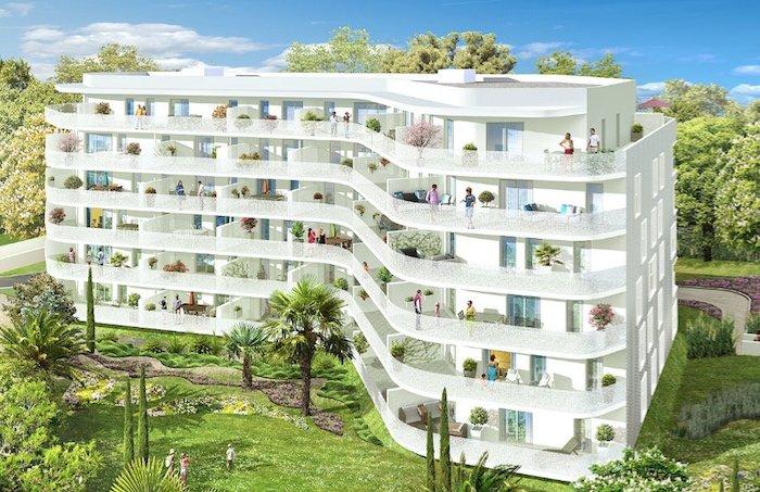 Projet de résidence de La Barquière, 13009 Marseille. Crédit photo : Constructa
