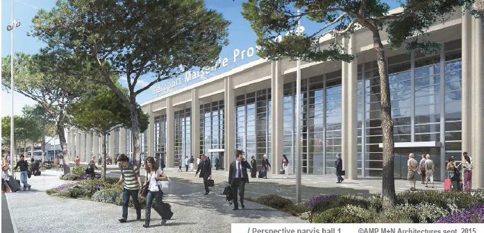 [Economie] L'aéroport Marseille-Provence boosté par le trafic international