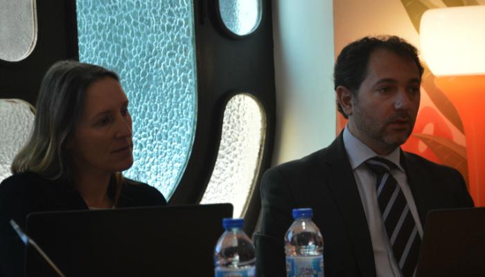 Sarah Kirman (Pégase) et Sébastien Giraud (Risques) présentent le futur SAFE