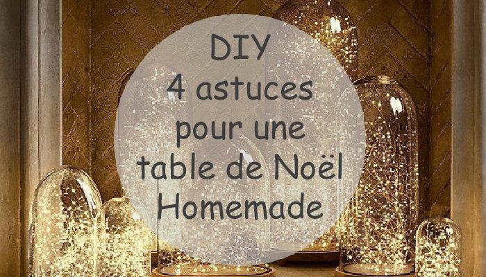 diy 4 astuces pour une jolie table de no l gomet 39. Black Bedroom Furniture Sets. Home Design Ideas