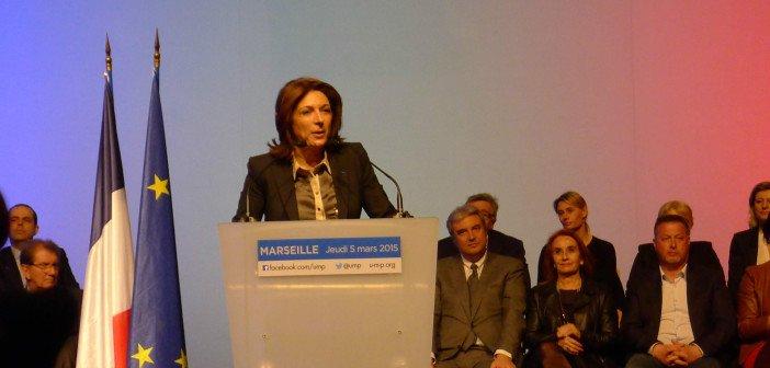 Victoire pour l'UMP de Martine Vassal aux départementales