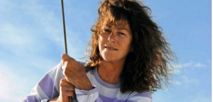 La navigatrice Florence Artaud