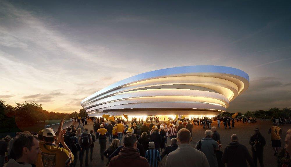 La future arena de Luynes