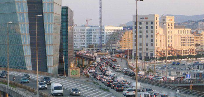 Marseille, ville ultra polluée.