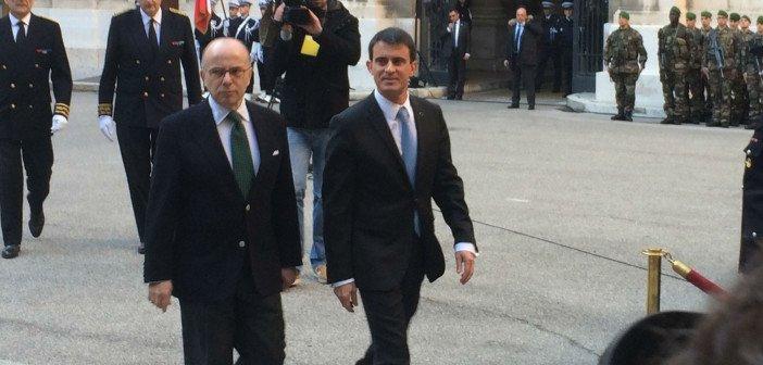 Manuel Valls en visite à Marseille