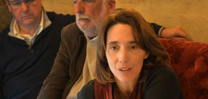 Sophie Camard à la tête de la liste EELV aux Régionales en 2015 (Archives Gomet'/JFE)