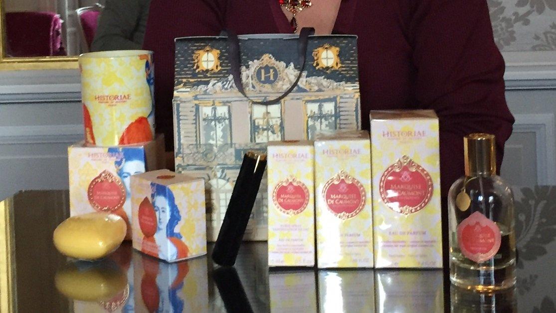 Marquise de caumont un parfum alliant histoire et passion - Hotel de caumont aix en provence ...