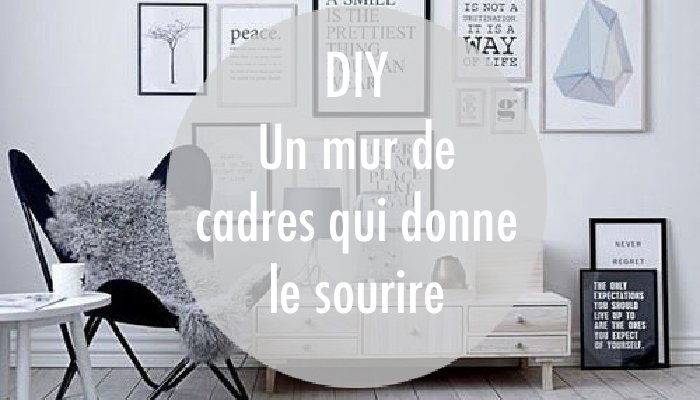 diy 3 conseils pour un mur de cadres tout sourire gomet 39. Black Bedroom Furniture Sets. Home Design Ideas