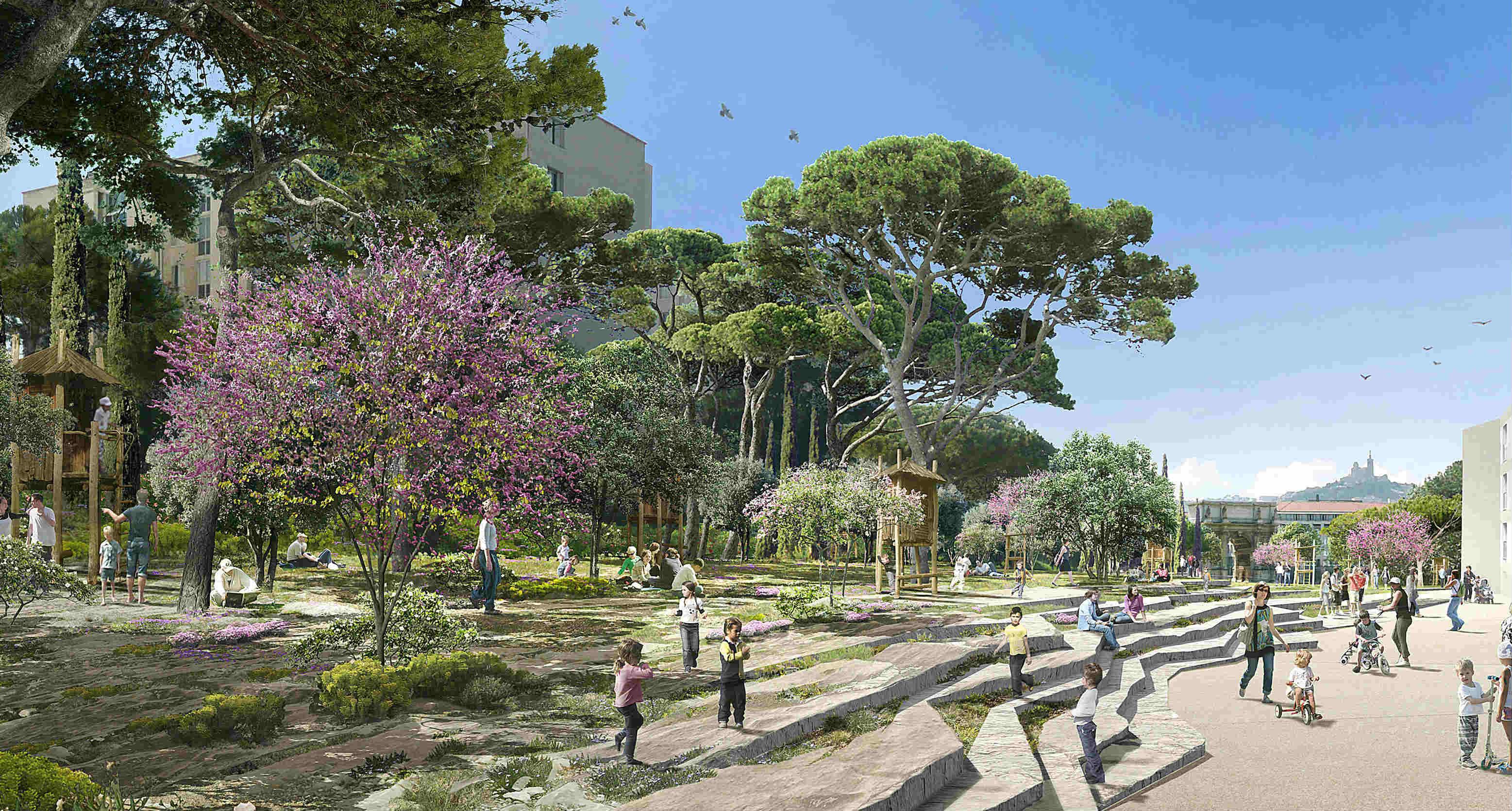 Environnement eurom diterran e veut remettre de la for La ville nature