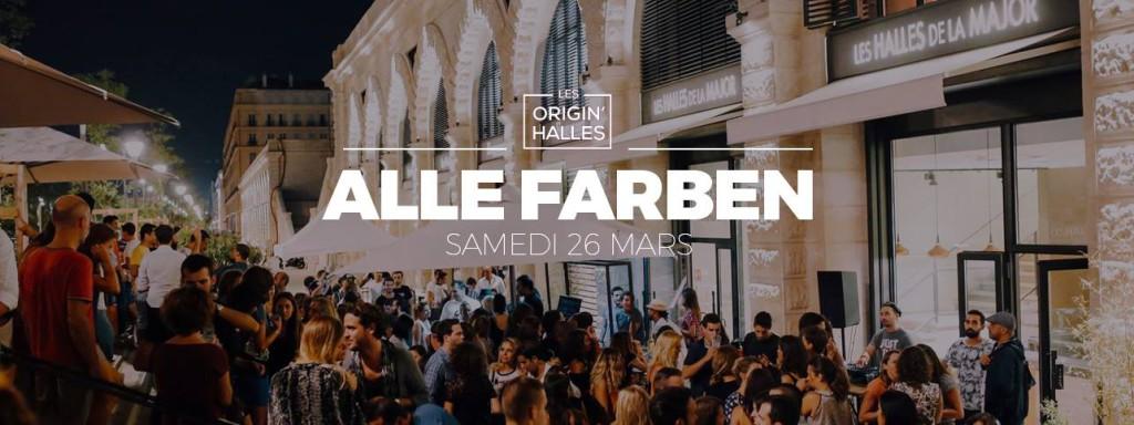Alle Farben Halles de la Major Marseille