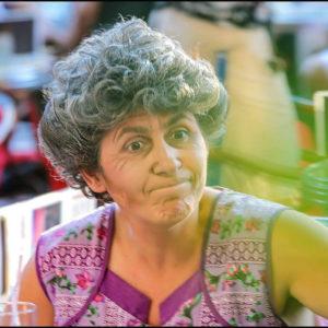 Mémé Casse Bonbon, alias Anne Cangelosi, participera à FestiFemmes édition 2016 à Marseille