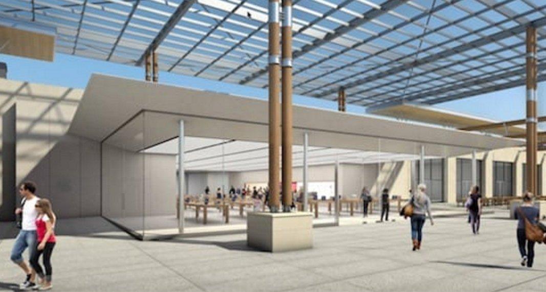 En images nous avons d j vu l apple store de marseille - Apple store marseille terrasse du port ...