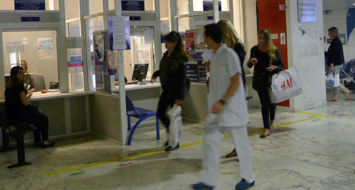 hall accueil hôpital