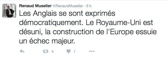 Tweet Renaud Muselier