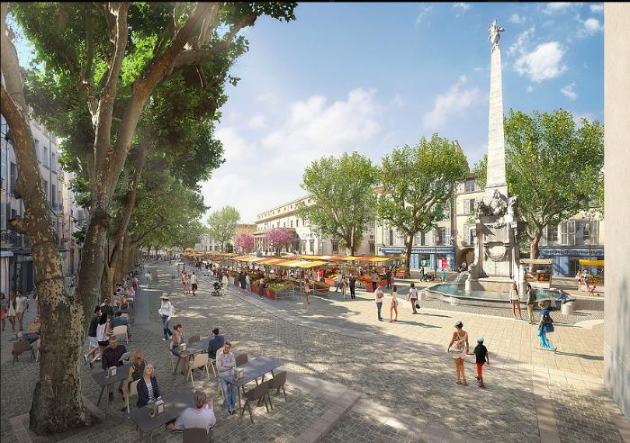 Le projet devrait voir le jour au Printemps 2019. DR/Mairie d'Aix-en-Provencre