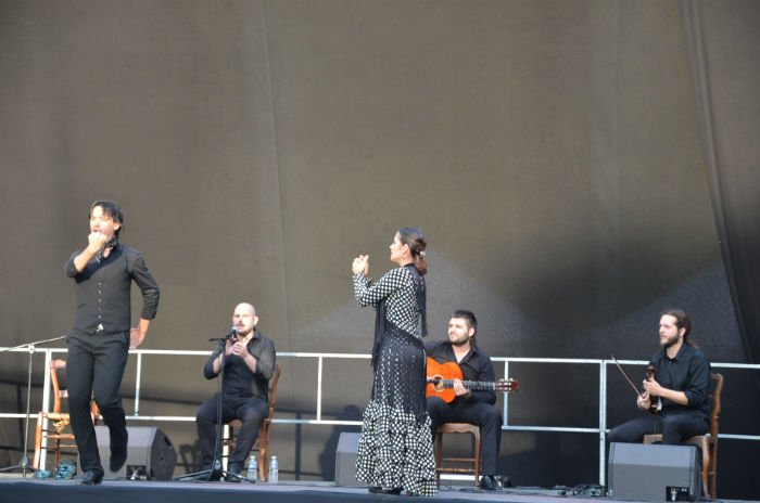 """""""Tablao Casa Patas"""" aux Nuits Flamencas, le 8 juillet dernier"""