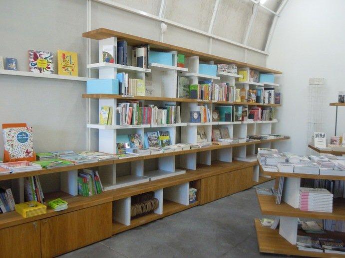 La librairie boutique du Fort Saint Jean, l'une des trois Mucem