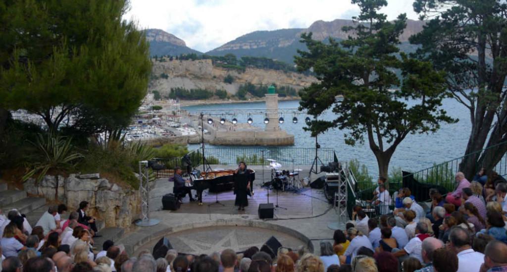 scene camarguo cassis jazz festival