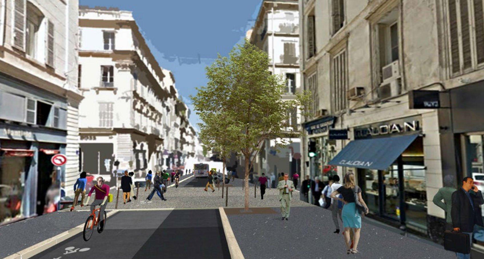 En images toutes les photos de la nouvelle rue paradis for Les espaces verts en ville