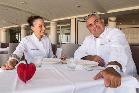Coline Faulquier et Dominique Frérard pour un menu à 4 mains