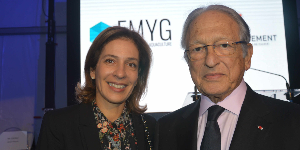Tanya Saadé Zeeny et Jacques Saadé, dirigeants de CMA-CGM