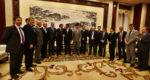 La délégation métropolitaine était venue en force pour convaincre Quechen de choisir Fos-sur-Mer