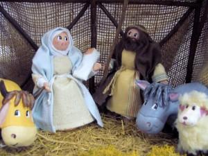 La Nativité selon Les Cent Tons de Mamie