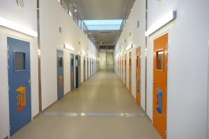 Le  couloir des parloirs. ©RG